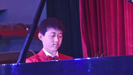 临汾十岁的于歌阳举行《2019新年于歌阳钢琴独奏音乐会》