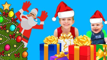 太厉害了, 萌宝小萝莉在家用魔法棒布置圣诞派对, 简直太温馨了