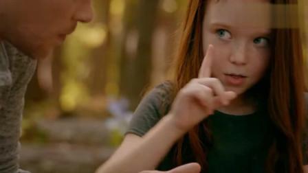 初代吸血鬼: 大K跟女儿在树林玩耍, 女儿用魔法救了受伤的蝴蝶