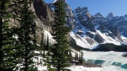 加拿大班夫国家公园 一个你在日出之前就想醒来的地方