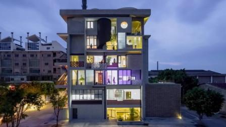 广州6个好友改造一栋楼同居, 老了也想在一起