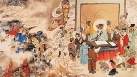 吴道子画地狱变相图, 高僧看完说道: 只有去过地狱的人才画得出来