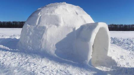 冬天到了, 教你如何搭建雪屋, 其实真的很简单!