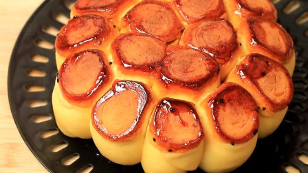 营养美味的儿童早餐包点-红薯花卷, 做法简单详细, 宝妈宝爸收藏好了!