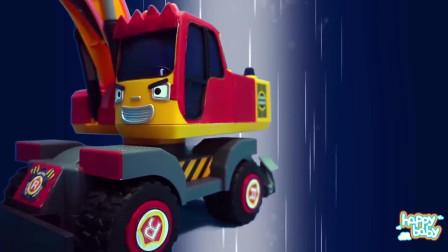 玩具车野外探险与救援happybaby