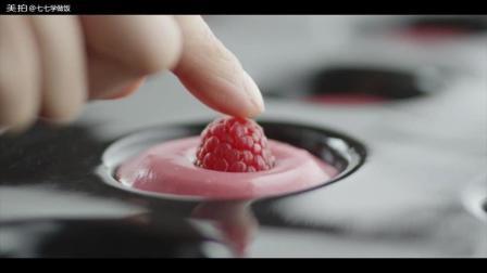 草莓蛋糕制作过程