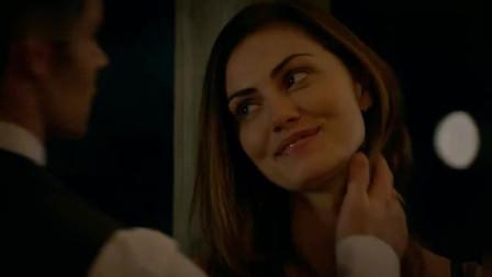 初代吸血鬼: 狼女海莉和以利亚互说爱意, 甜蜜相拥, 这段很精彩
