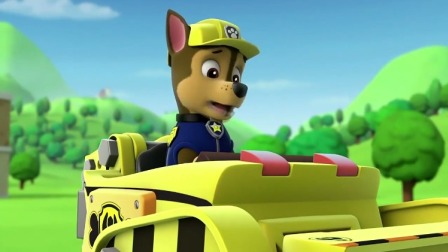 汪汪队立大功:莱德让阿奇开小砾的工程车,阿奇还没开过!