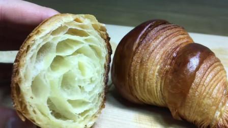 美食制作之丹麦牛角包糕点