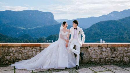 云洲数字电影 | 在上帝后花园,我将自己献予你 布莱德城堡婚礼