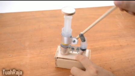牛人在家自制一个小工具, 真是不错佩服这脑洞