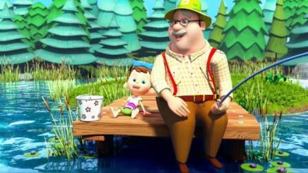 亲子视频, 爸爸们为宝贝们唱的15首英文儿歌