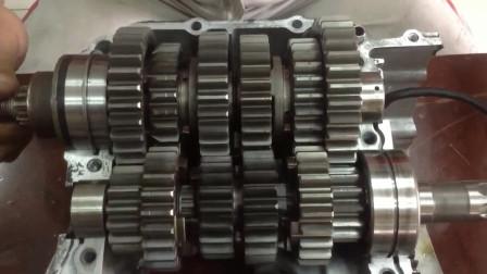 变速箱机械结构, 看看如何运行的?