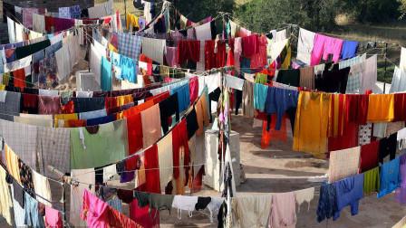 中国人洗完衣服要晒衣服, 可为什么美国人洗完衣服从不晒呢?