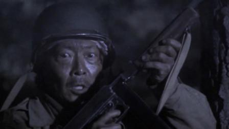 一部热血沸腾的战争动作片, 机枪扫射, 场面很壮观