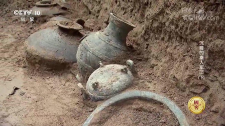 考古人员在这处古墓中, 出土了一个数千年前的夜