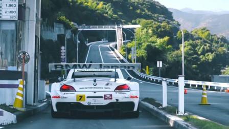 我知道, 能把车开上这条山路的, 肯定是日本送豆腐的