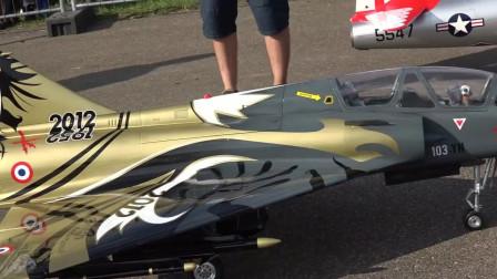 [JetPower2018]Mirage 2000涡喷模型飞机飞行表演