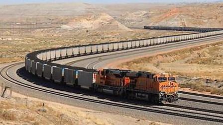芒果撞地球 世界最长火车,长度达到了7353米
