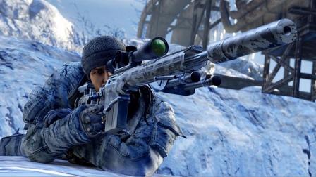 狙击手:幽灵战士2(SGW2)最高难度极速攻略第12期DLC突袭西伯利亚 第二章