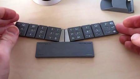 键盘大小仅手机三分之一, 八个按键装下所有功能, 一起来了解下!