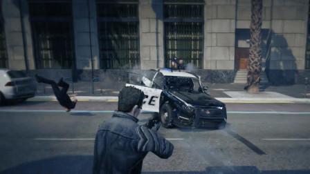 [琴爷]GTA5MOD: 超能力犯罪者之量子破碎终结者! 时空穿梭抢劫洛城都太平洋银行!