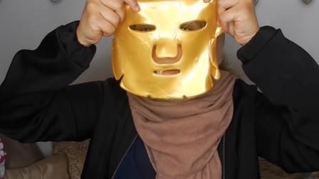 面膜都敷过吧, 那黄金面膜你一定没有用过, 网友: 想用用不起呀!