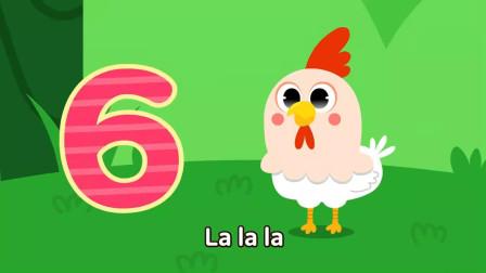 小鸡数字英文歌 动漫儿歌
