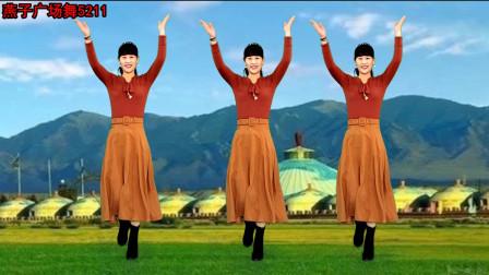 燕子广场舞5211《北京的金山上》演唱: 高原红 70年代的一首老歌 天籁之音好听