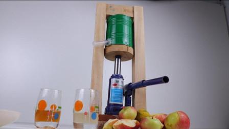 榨汁机用木头就可以做, 教你简单实用的方式, 一起来见识下!