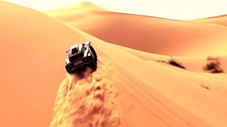 世界顶级汽车赛事: 摩托车也能扬起大风沙, 比赛的精彩画面来了, 这些选手也太厉害了!