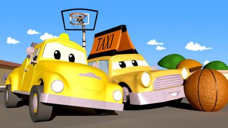 73 出租车小杰瑞米撞到了篮球网