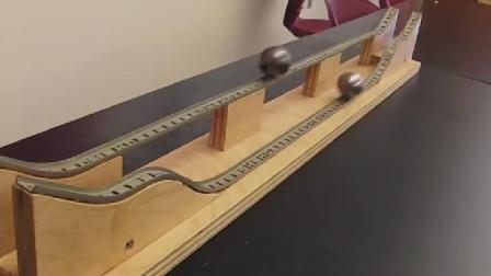 到底是曲线快? 还是直线快? 这个实验让你出乎意料!