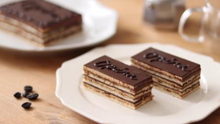 香浓巧克力歌剧院蛋糕, 给味蕾多层次的美味享受