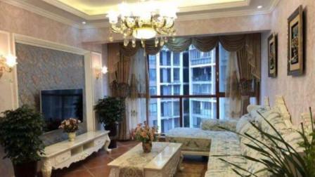 人生中的第二套房子, 采用奢华大气的欧式风格装修, 特别有成就感
