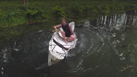 可折叠私人小游艇, 长得像只纸船, 上岸能轻松拖走