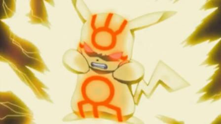 神奇宝贝动画中被皮卡丘电击过的神兽