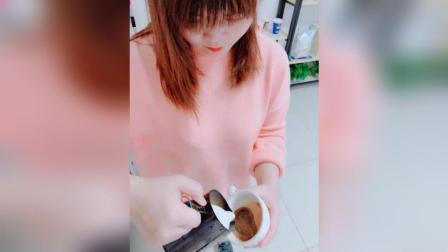 美拍视频: #咖啡拉花