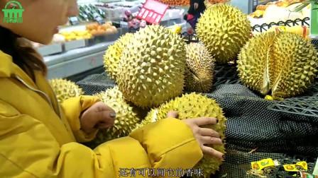 如何挑选水果之王榴莲
