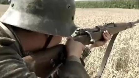经典二战电影《我们的父辈》片段, 玉米地遭遇苏军, 德军的应急反应及战术运用