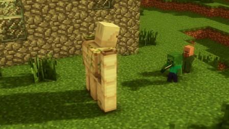 我的世界动画-菜鸟 vs 高手-丧尸末日