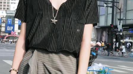杭州美女夏季穿搭街拍啊第一位小姐姐的大长腿太令人羡慕啦