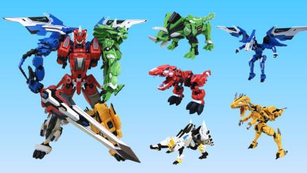 超酷的钢铁飞龙2五合体变形机甲玩具
