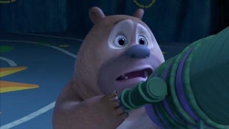 熊熊乐园:月亮消失了,熊二很伤心,以后没有月亮蛋糕了!