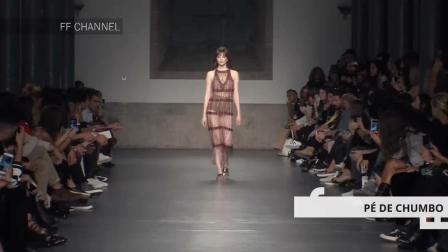时装周模特运用到极致的薄纱, 尽显好身材, 不得不暂停慢慢看