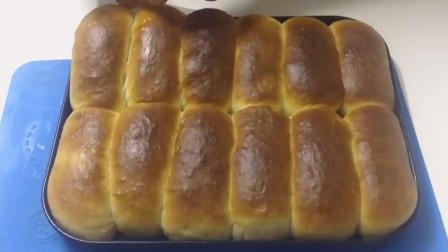 教你做面包之如何制作超软长包