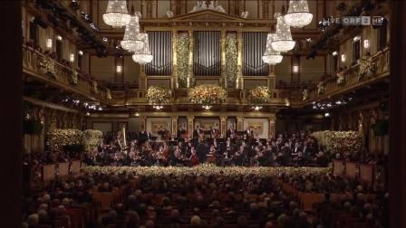 奥地利维也纳新年音乐会2019年1月1日金色大厅 完整版 指挥:克里斯蒂安.蒂勒曼