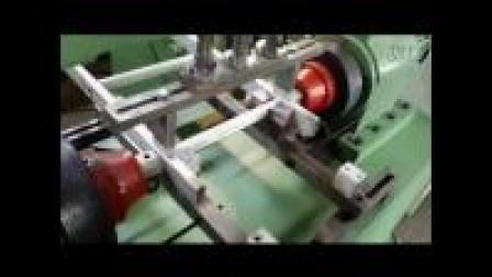 埃瑞特三角管梯子铆接机生产过程