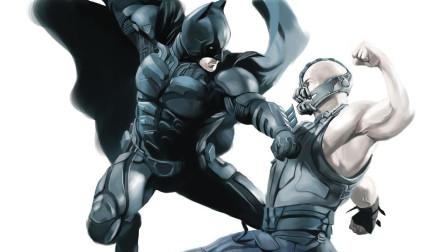 蝙蝠侠破产+残疾? 超级反派贝恩大战蝙蝠侠《黑暗骑士崛起》