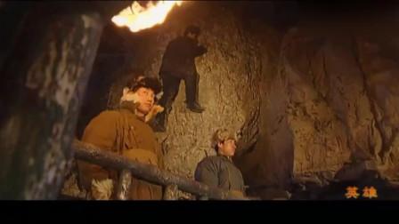 燕双鹰去山寨救人, 守门的小弟刚说他不会来, 下一秒就躺在了地上